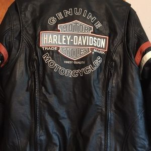 Harley Davidson 2 in 1 Leather Jacket
